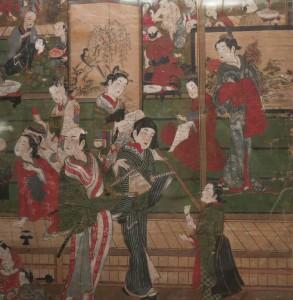 Yoshiwara à Edo